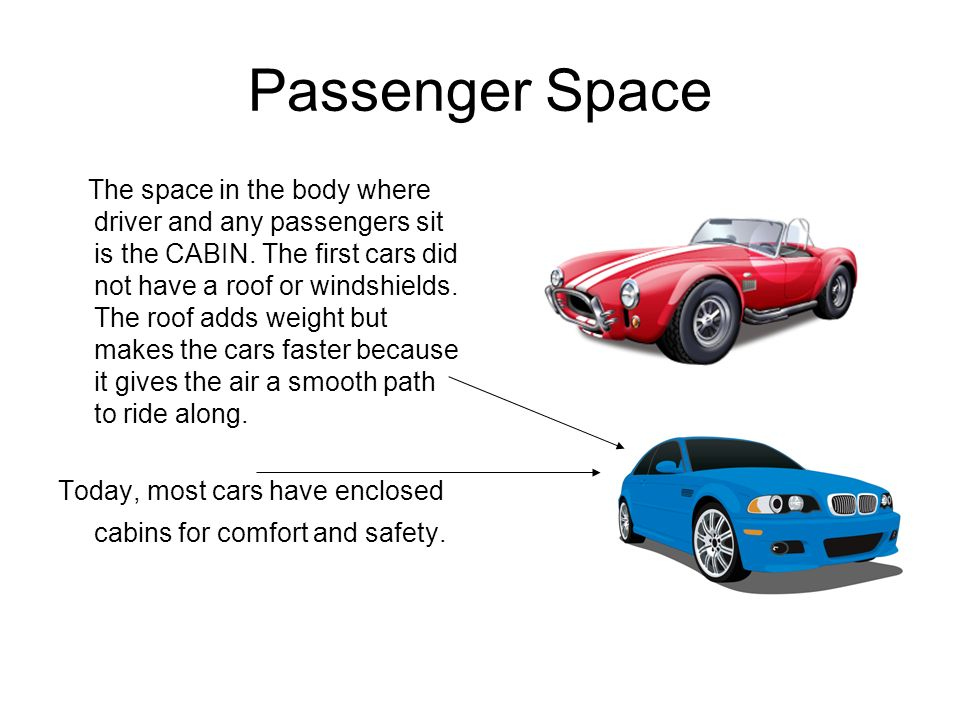 Parts of A Vehicle In this presentation you will learn the standard ...