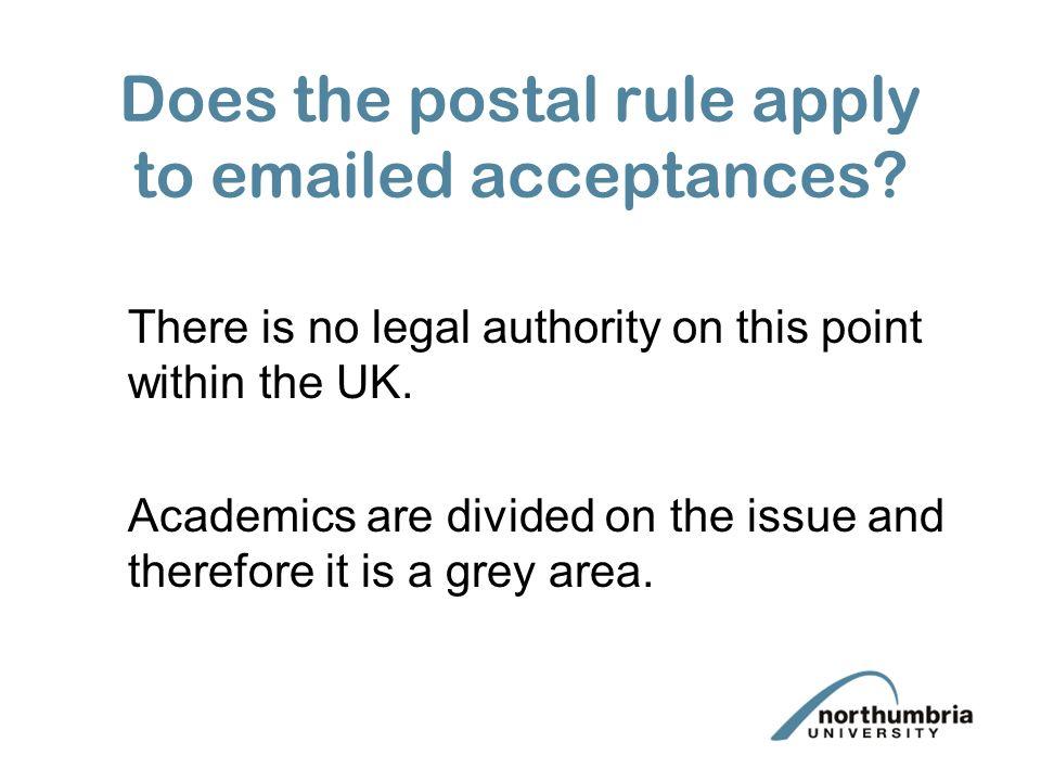 postal rule uk