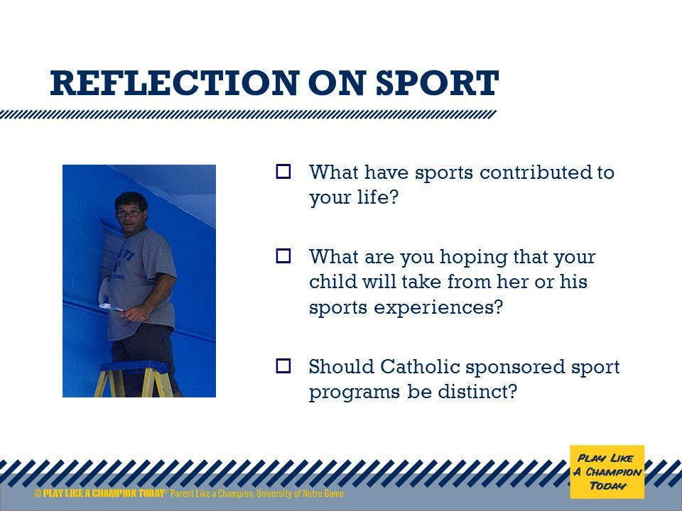 reflection in sport