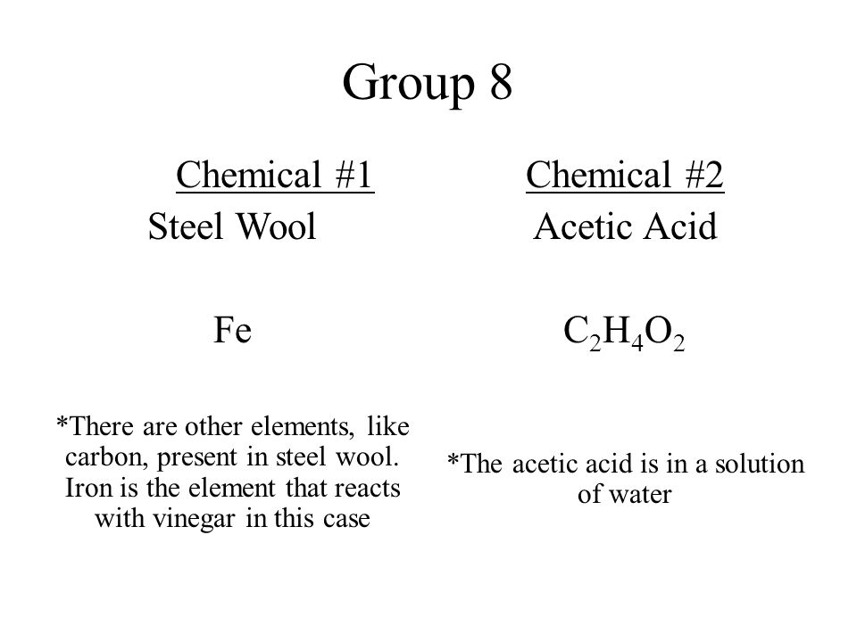 Group 1 Chemical 1 Copper Sulfate Cuso 4 The Copper Sulfate Is In