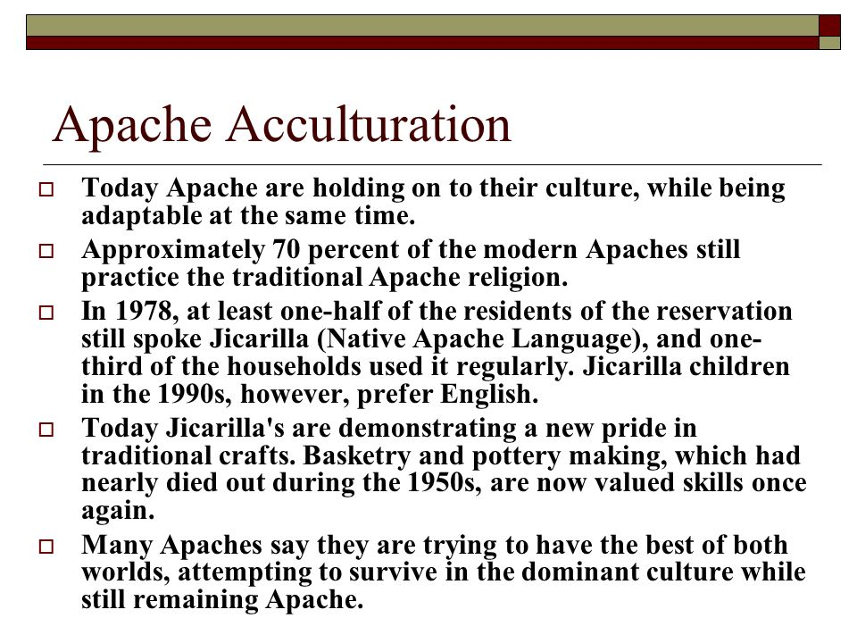 The Apache Indians (Apache means