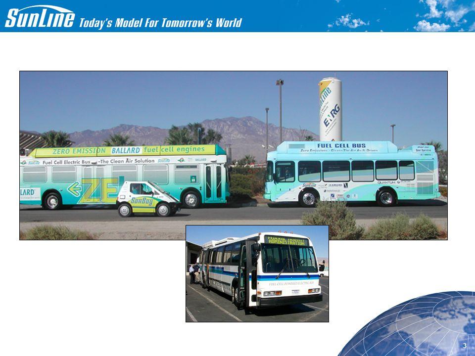 11/08/01 1 SunLine's Fuel Cell Bus Demonstration Program Presented