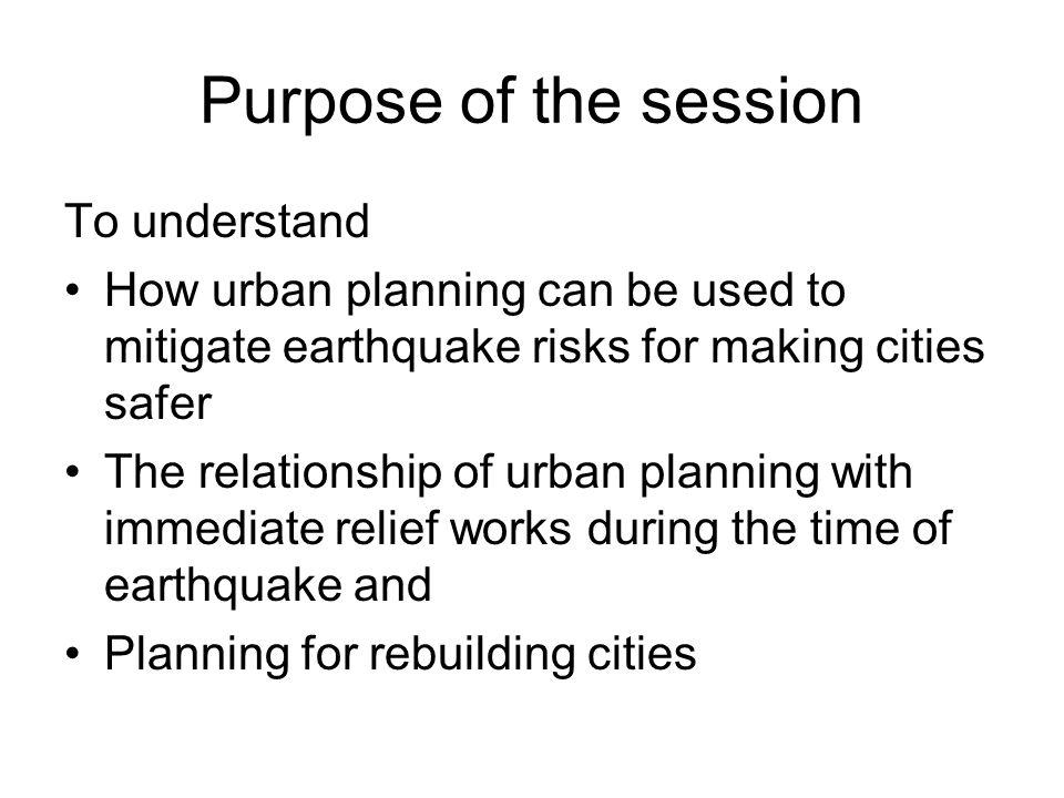 Urban Planning for Safer Cities Jibgar Joshi  Principles