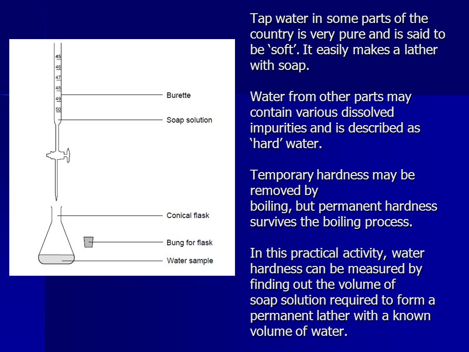 what is permanent hard water
