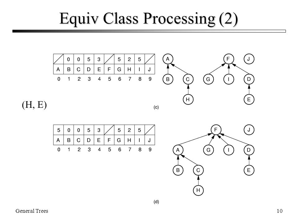 General Trees10 Equiv Class Processing (2) (H, E)
