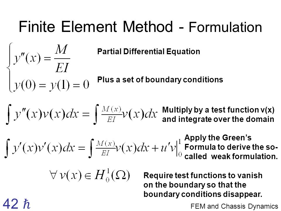The Finite Element Method and an Introduction to Kart Chassis