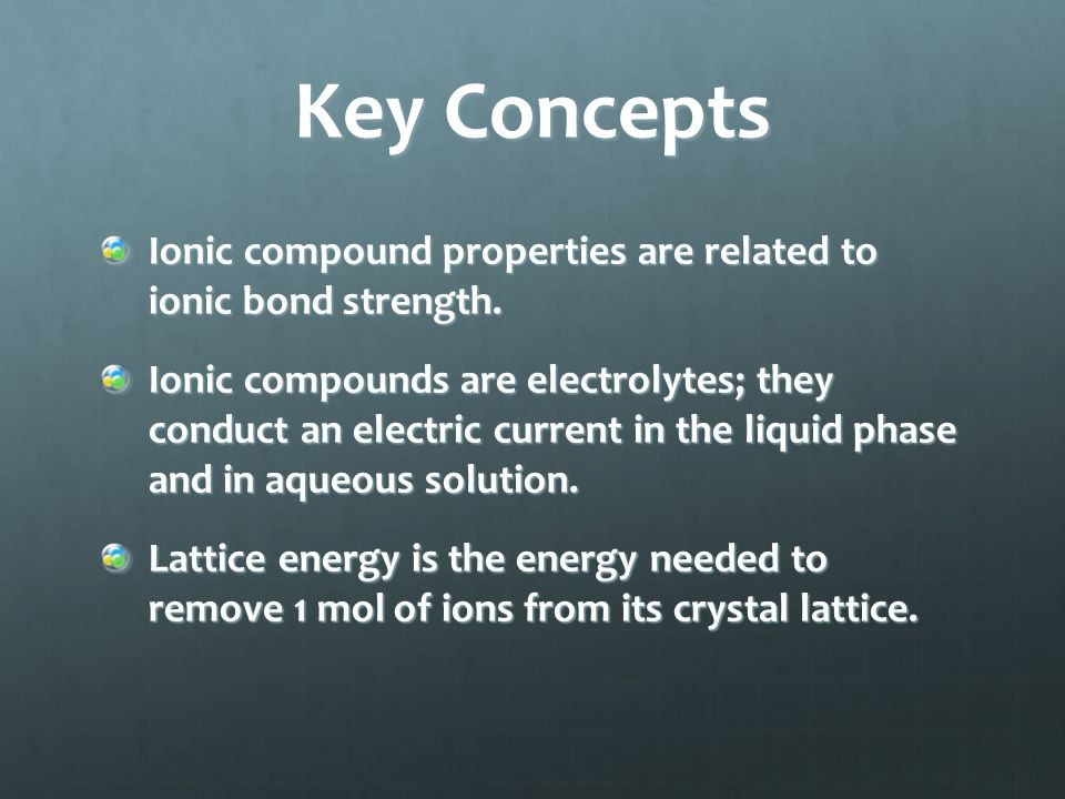 Key Concepts The number of protons remains unchanged during ion formation.