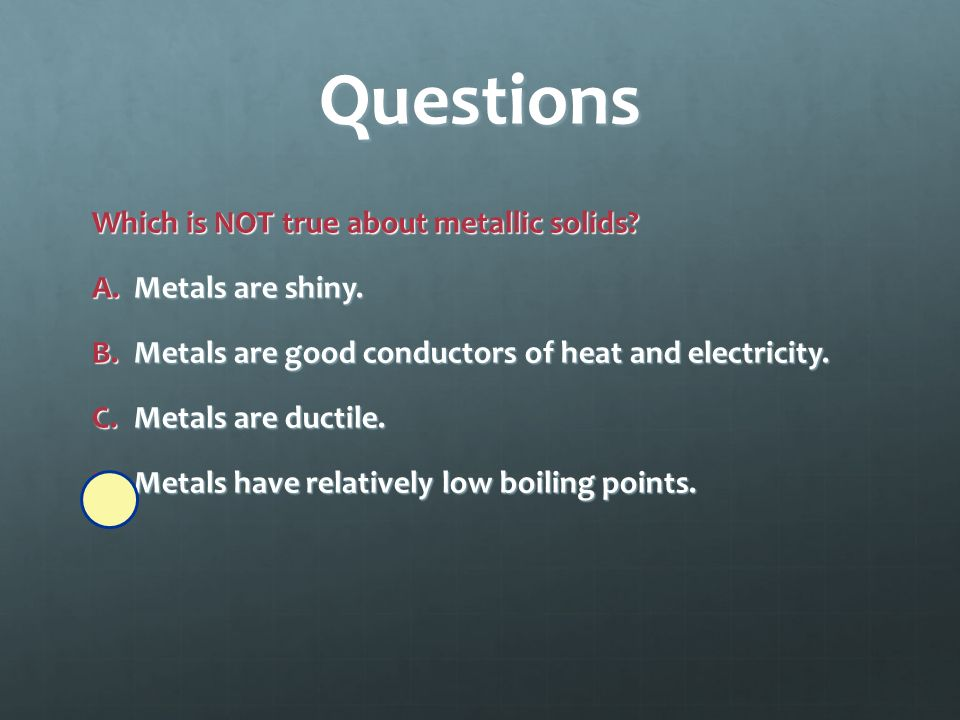 Questions An alloy is what type of substance.