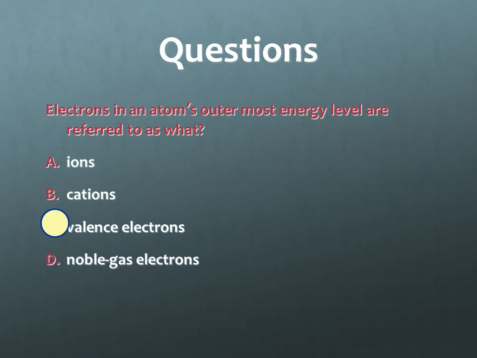 Questions Which is NOT true about metallic solids.