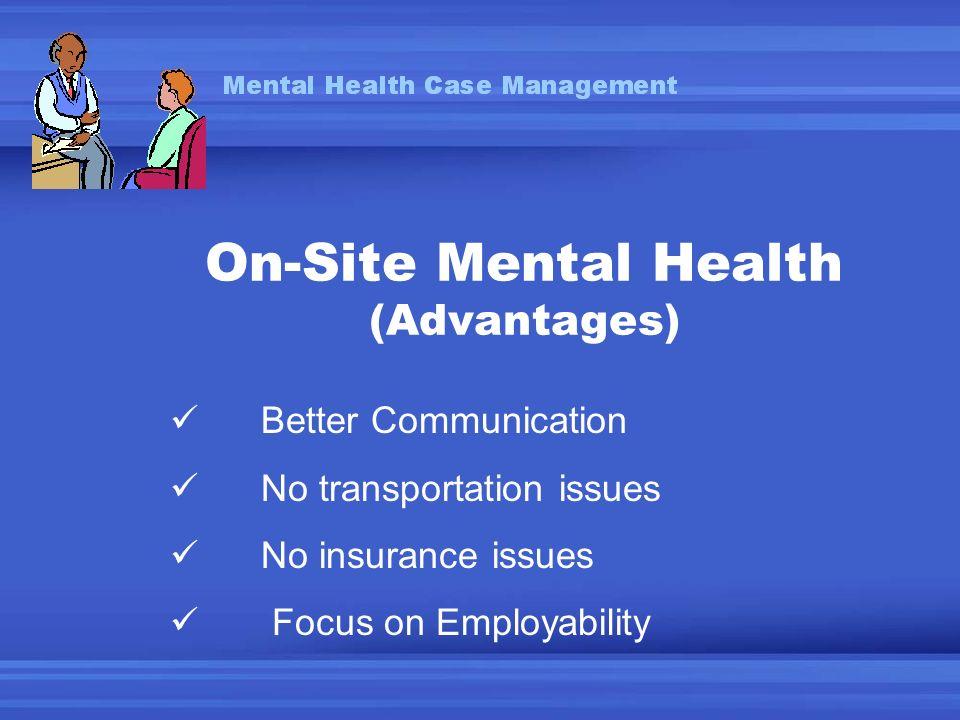 Mental Health Case Management Jeff Gottlieb Ph D L P Hubert H