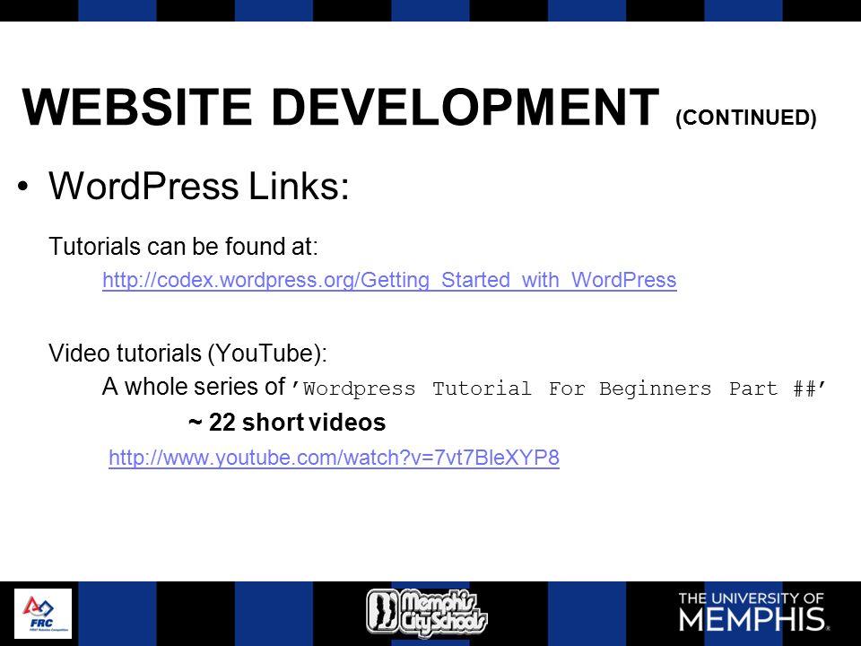 FIRST Kick-Off 2012 Administration & Website Development Tom