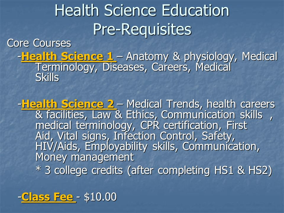 Bio-Medical/Health Science Academy Welcome to Open House Home Health ...