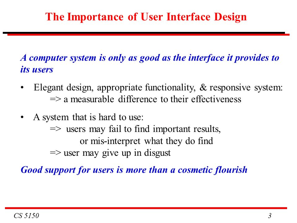 Cs Cs 5150 Software Engineering Lecture 11 Usability Ppt Download