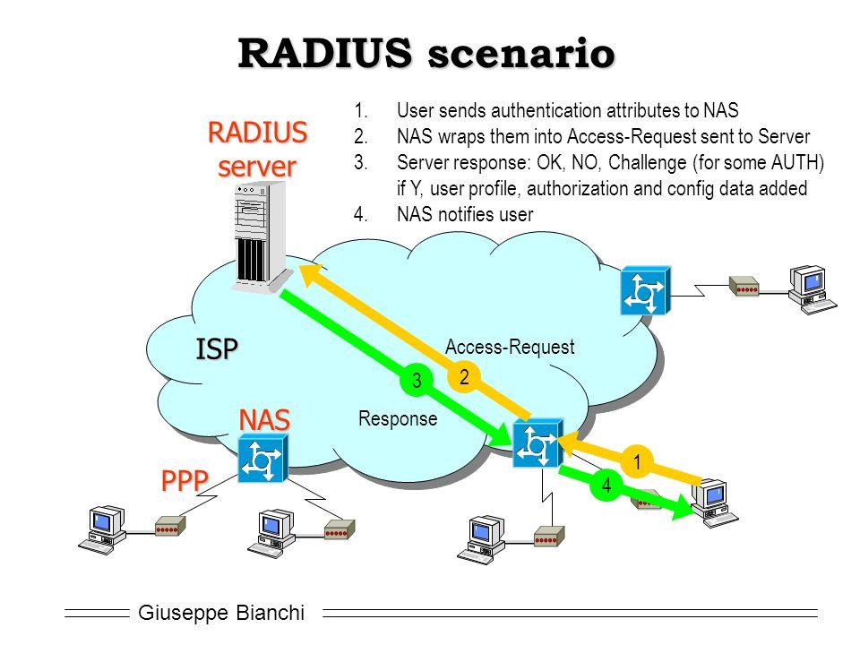 Giuseppe Bianchi Lecture 3 1: Handling Remote Access: RADIUS