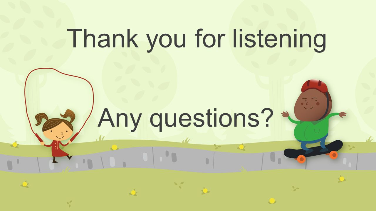 Thank you for listening Any questions