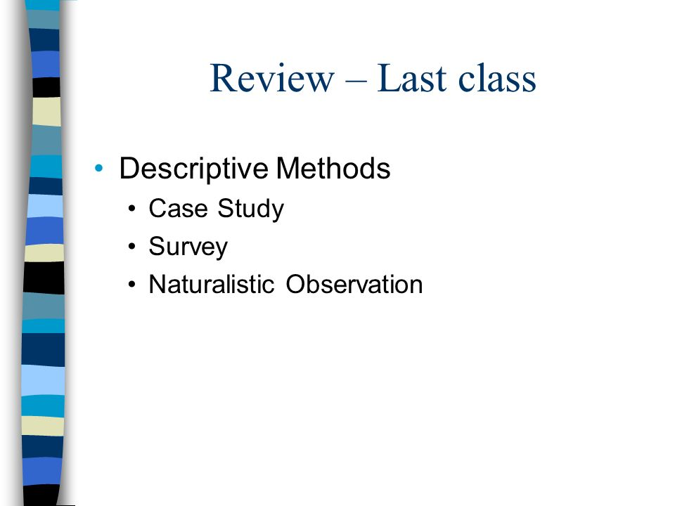 Correlation And Experiments Cont Of Psychology Is A