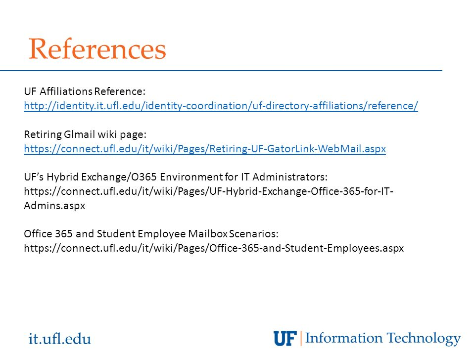 It ufl edu State of UF Presented by James Oulman & Todd Williams