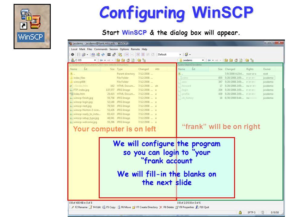 winscp 439 setup