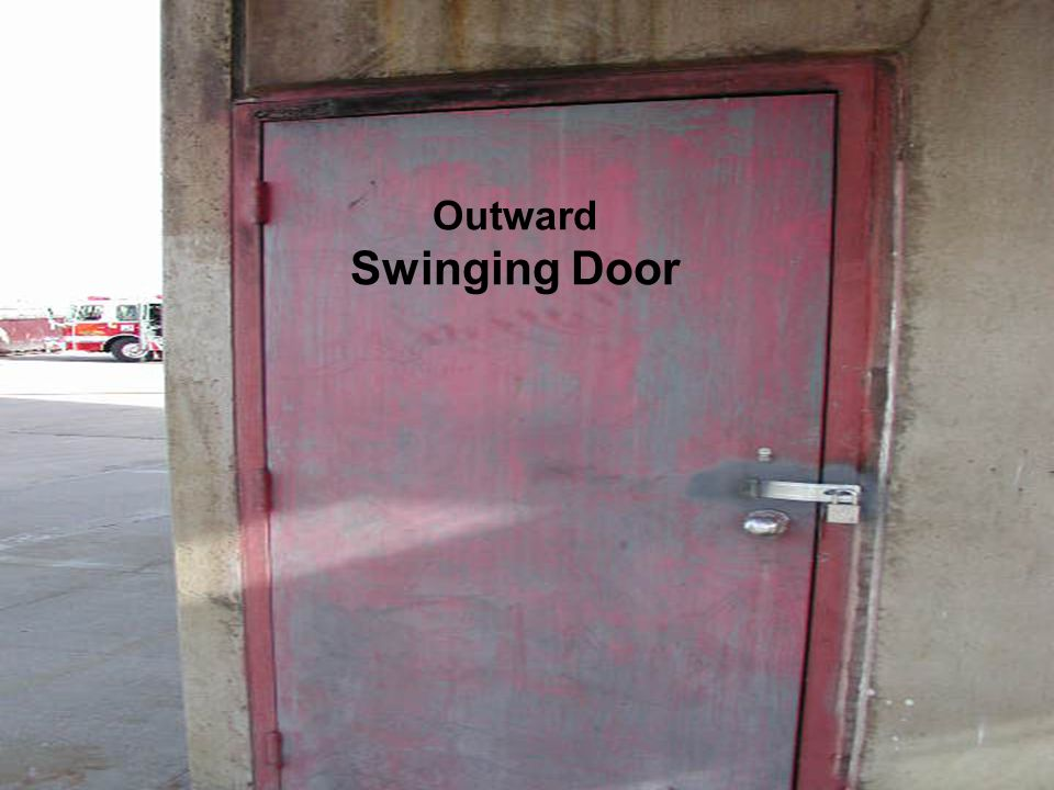 Forcible Entry Lieutenant Qualifications Packet Outward Swinging