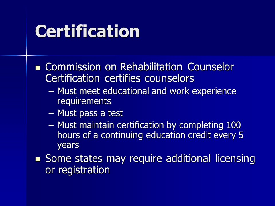 Rehabilitationvocational Counselors Abby Shoen Ghec Asl 2 March 1