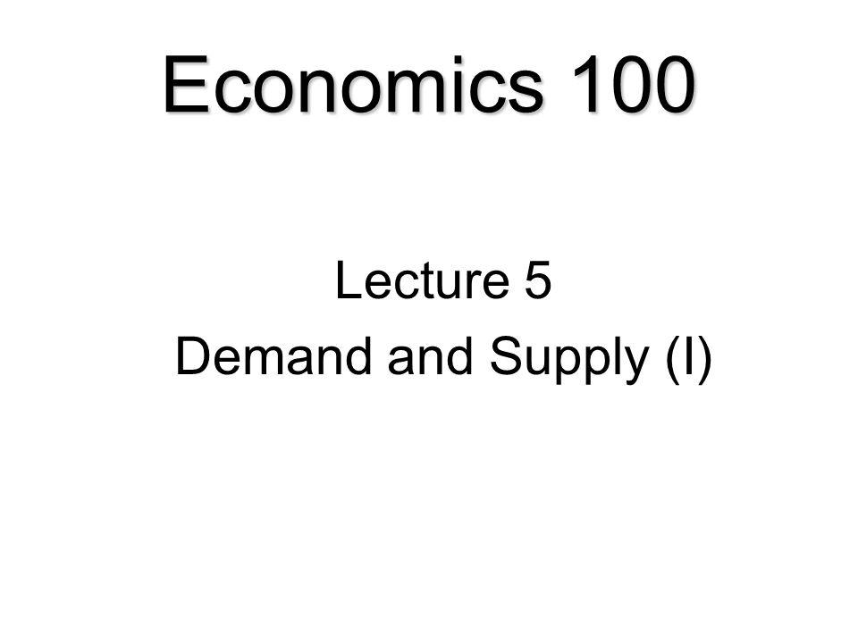 Economics 100 Lecture 5 Demand And Supply I. 1 Economics 100 Lecture 5 Demand And Supply I. Worksheet. Demand Worksheet Economics Answers At Clickcart.co