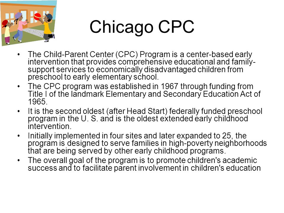 Earlychildhood Programs An Effective Investment For The Future