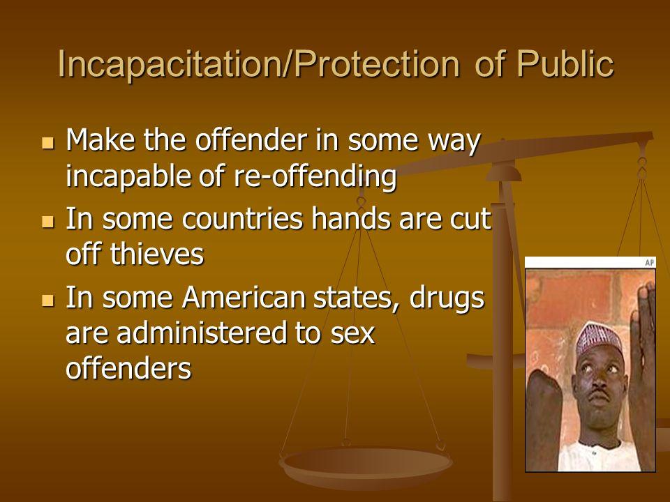incapacitation theory of punishment