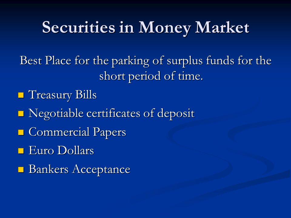 Financial Markets Interest Rates Financial System Surplus