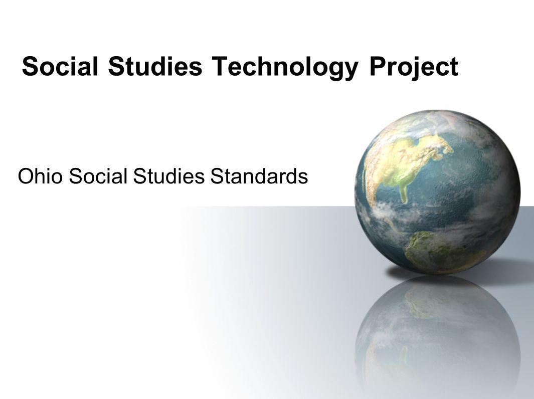 Social Studies Technology Project Ohio Social Studies