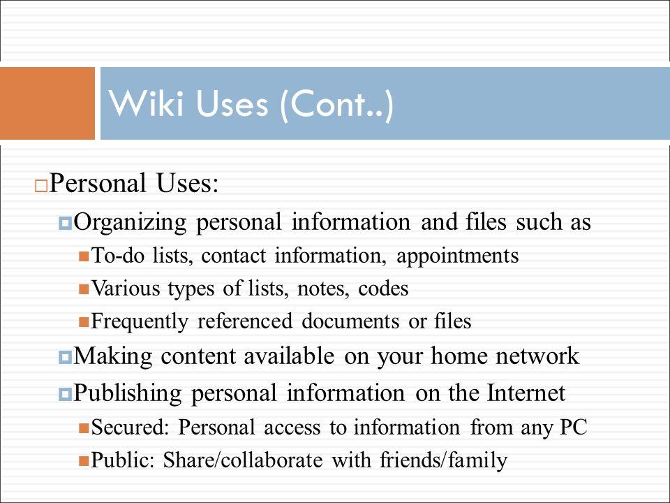 network types wiki