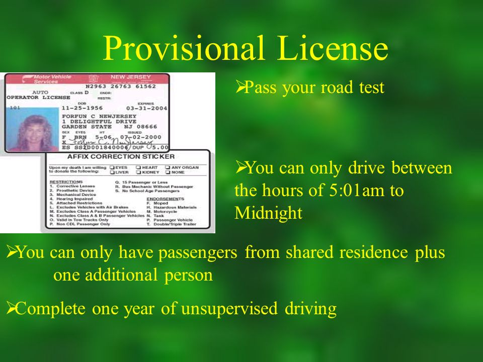 nj drivers permit test locations