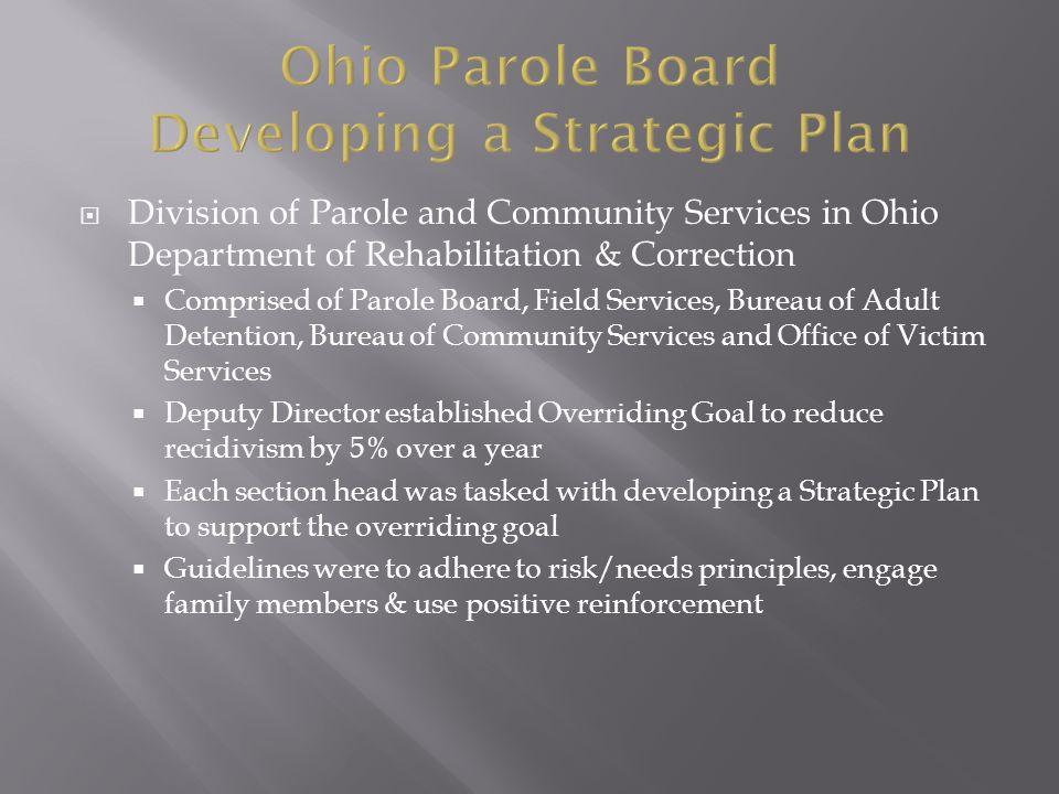 community services Adult parole authority