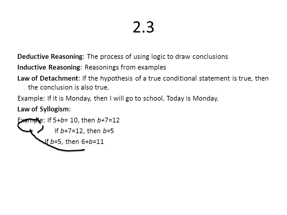Chapter Two Emma Risa Haley Kaitlin 2 1 Inductive Reasoning Find A