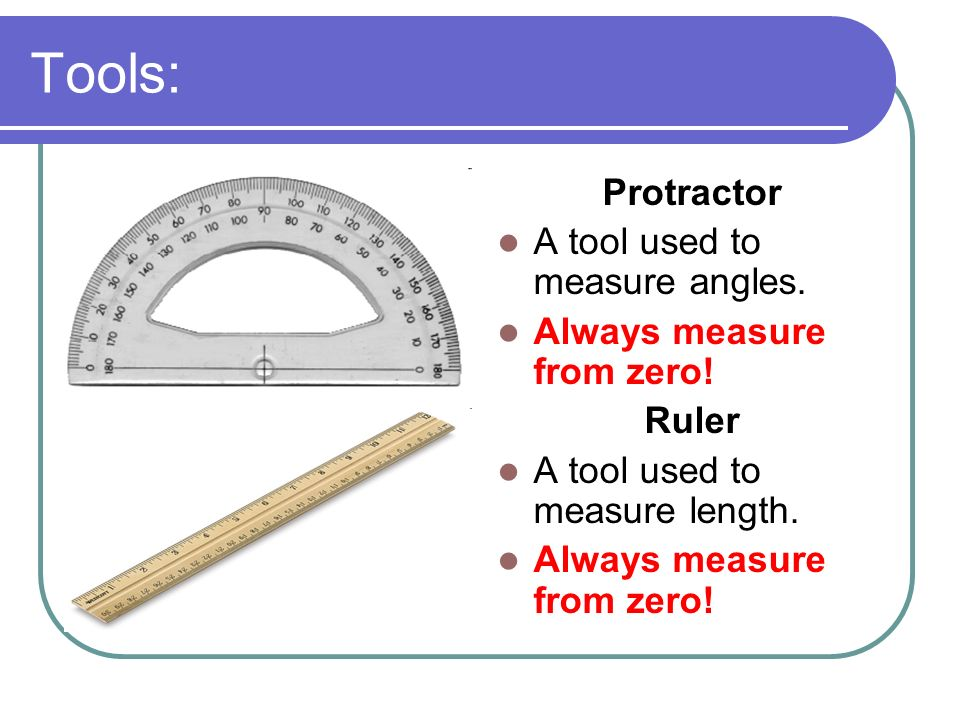 5 Tools Protractor A Tool Used To Measure Angles