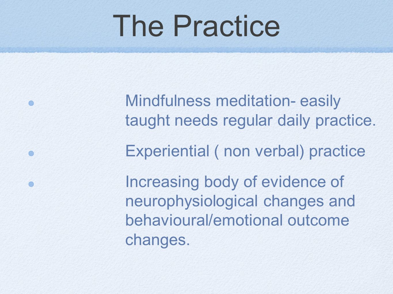 mindfulness a brief introduction. definition simply- awareness