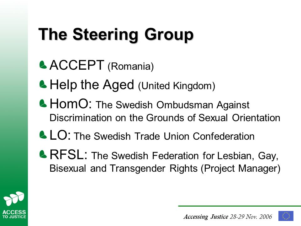 Swedish federation for lesbian gay bisexual and transgender rights
