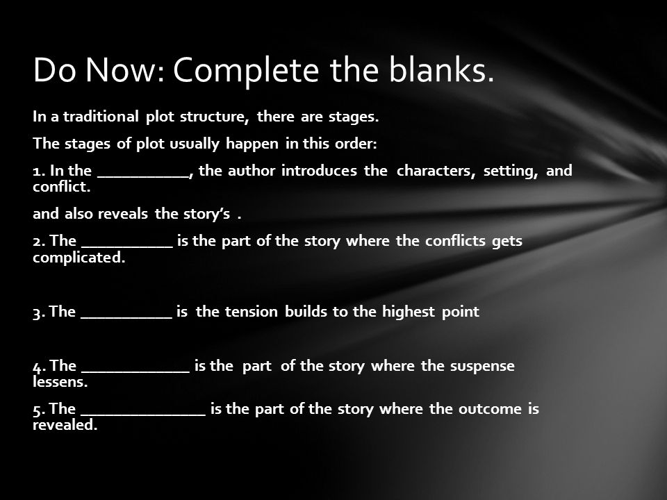 What parts make up a a story   ges/literary_elements.ppt