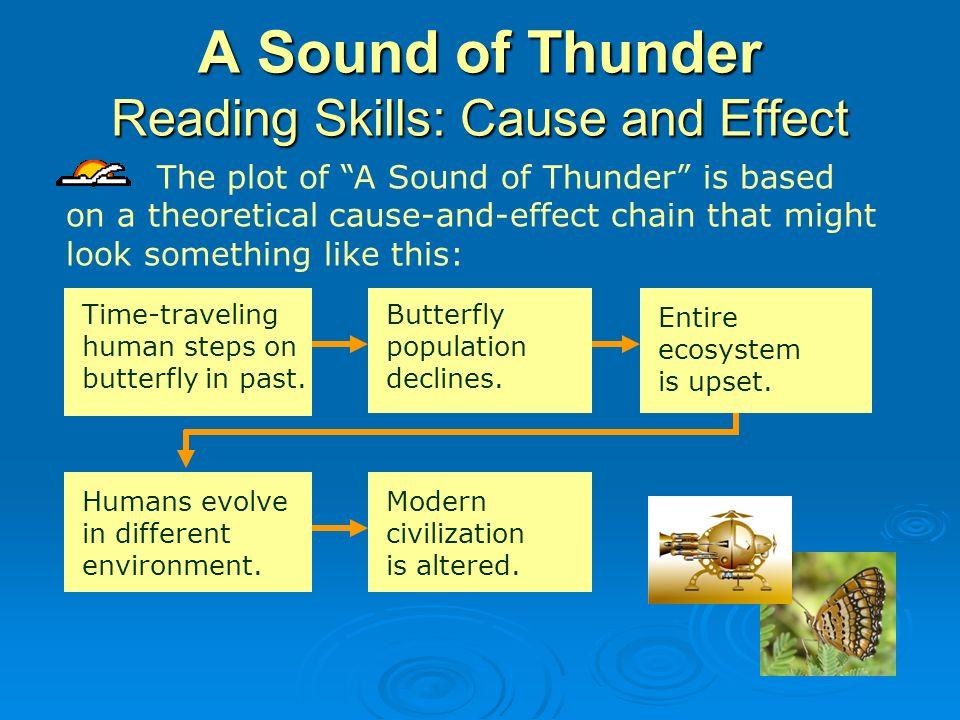 a sound of thunder ray bradbury summary