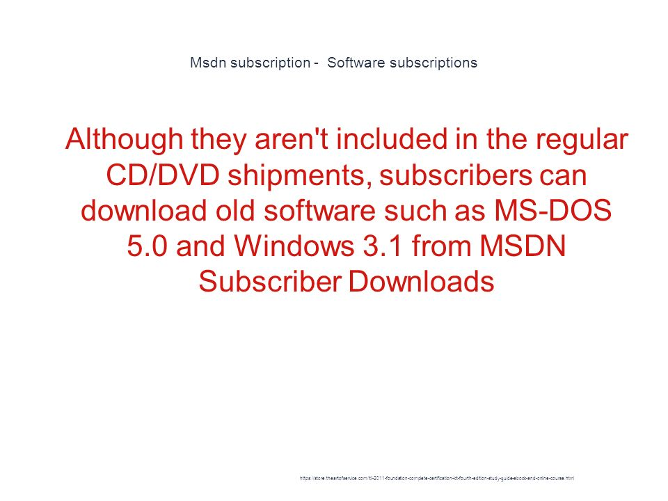 MSDN - ppt download