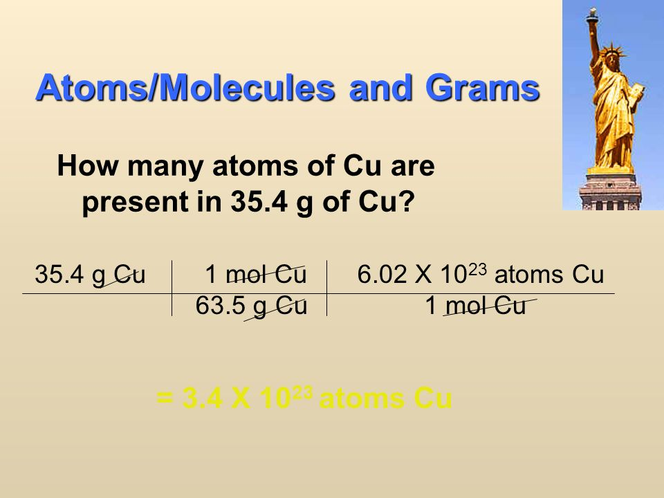 20 molar mass Avogadro's number Grams Moles particles Everything must go through Moles!!.