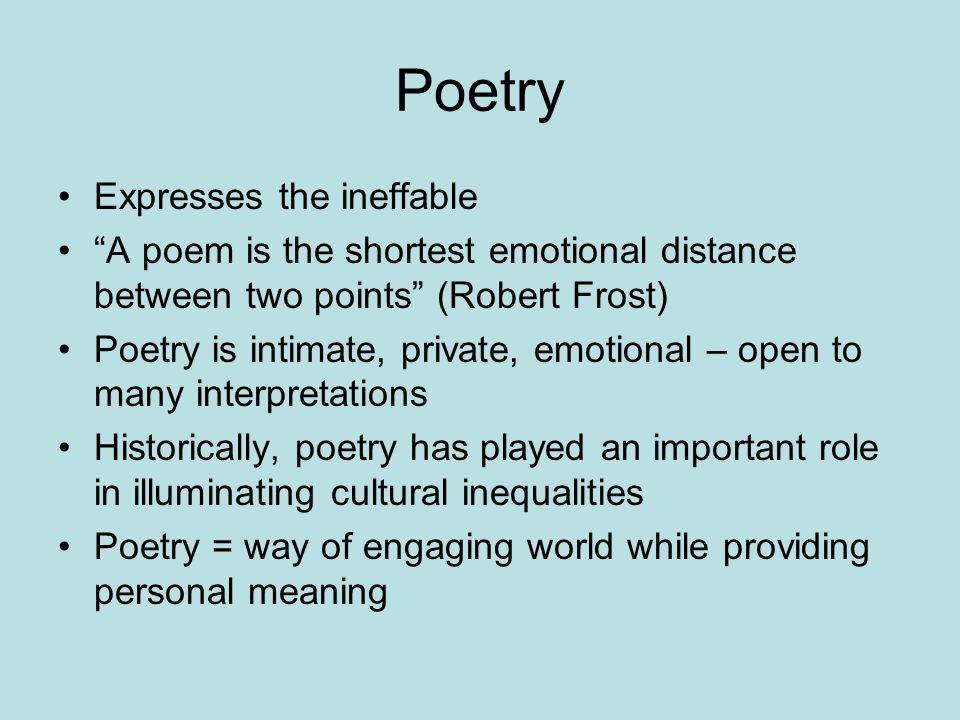 symbolism in robert frost poetry