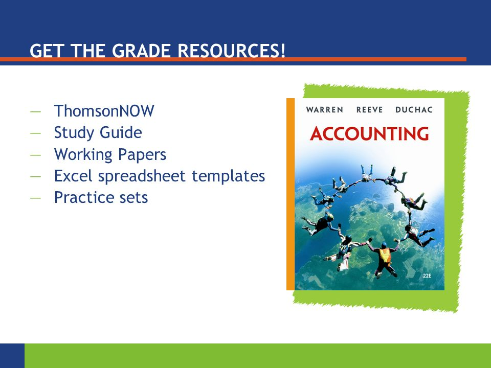 GET THE GRADE RESOURCES.