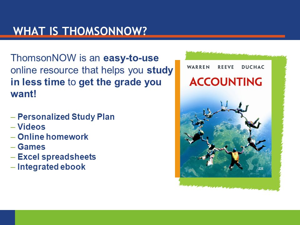 WHAT IS THOMSONNOW.