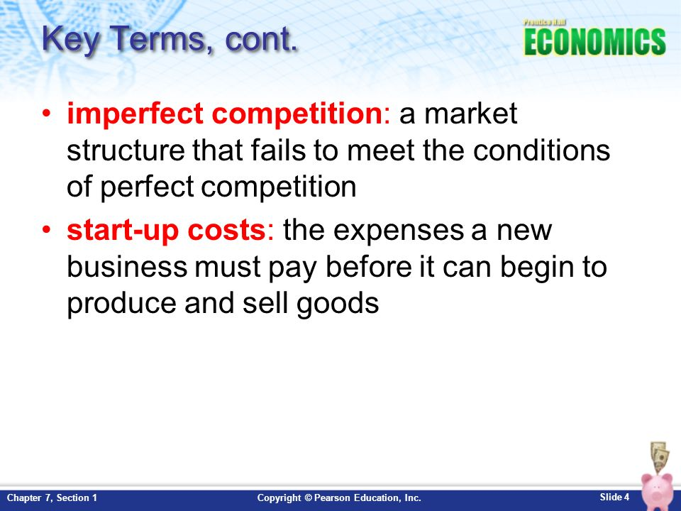 comparison of perfect and imperfect competition Basis for comparison perfect competition imperfect competition meaning: perfect competition is a type of competitive market where there are numerous sellers selling.