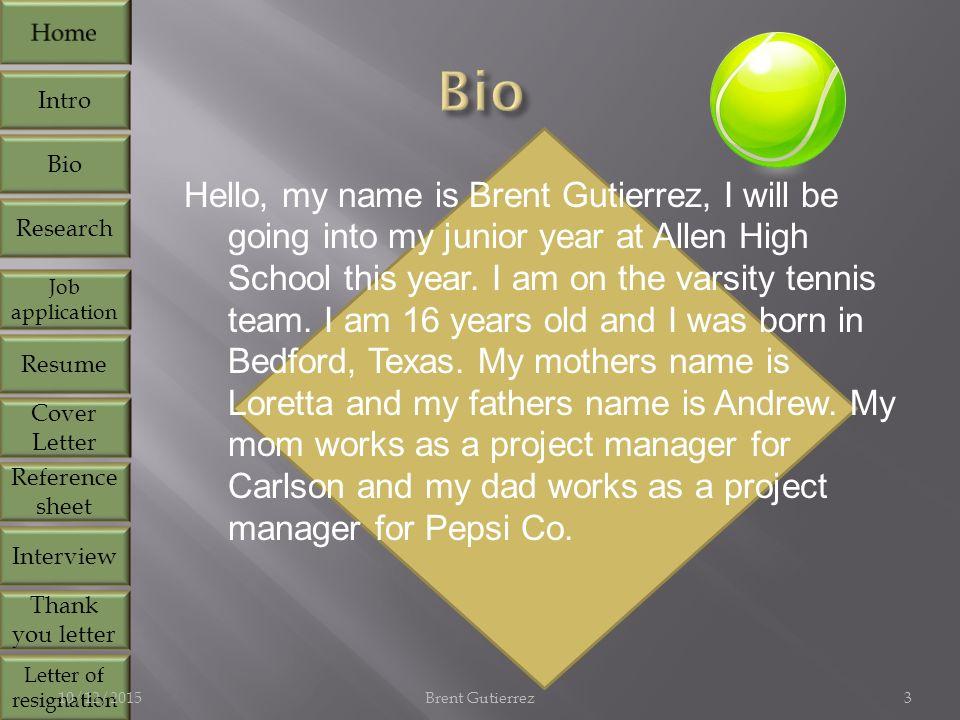 Allen high school intro bio research job application resume cover 3 hello expocarfo Gallery