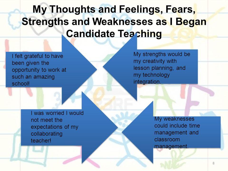 my strengths as a teacher