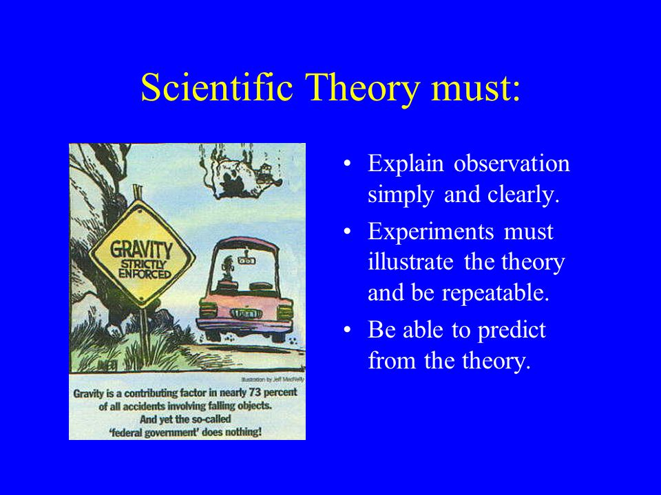 Make-up of Scientific Theory