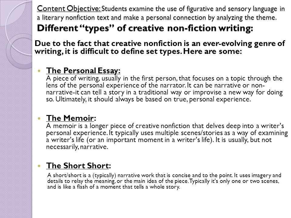 a personal essay is best defined as