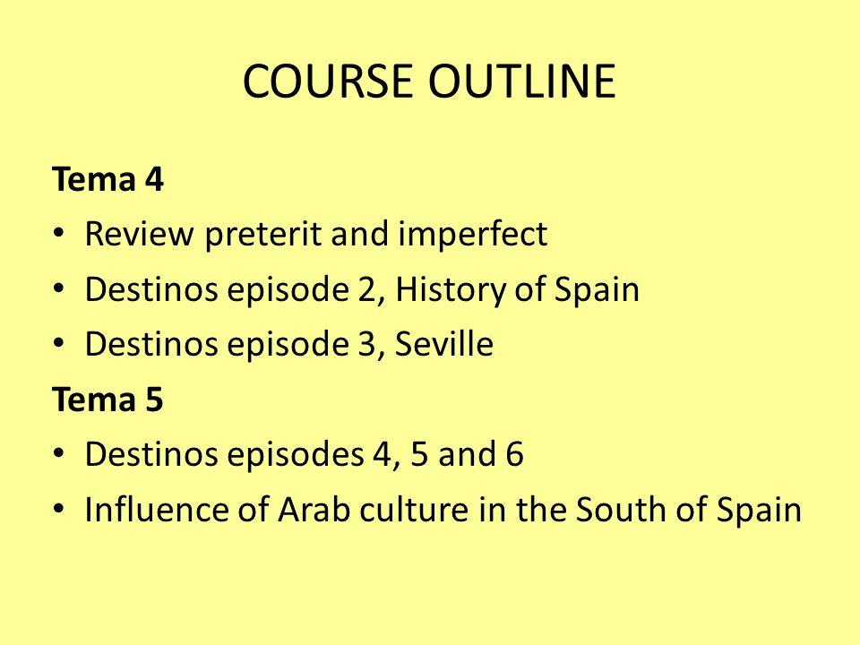 Avcomicswordpress Course Outline Tema 1 Introduction To Spain