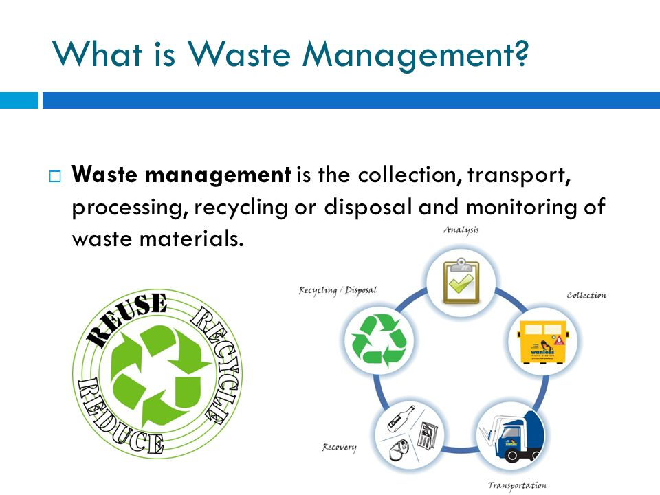 Image result for what is waste management